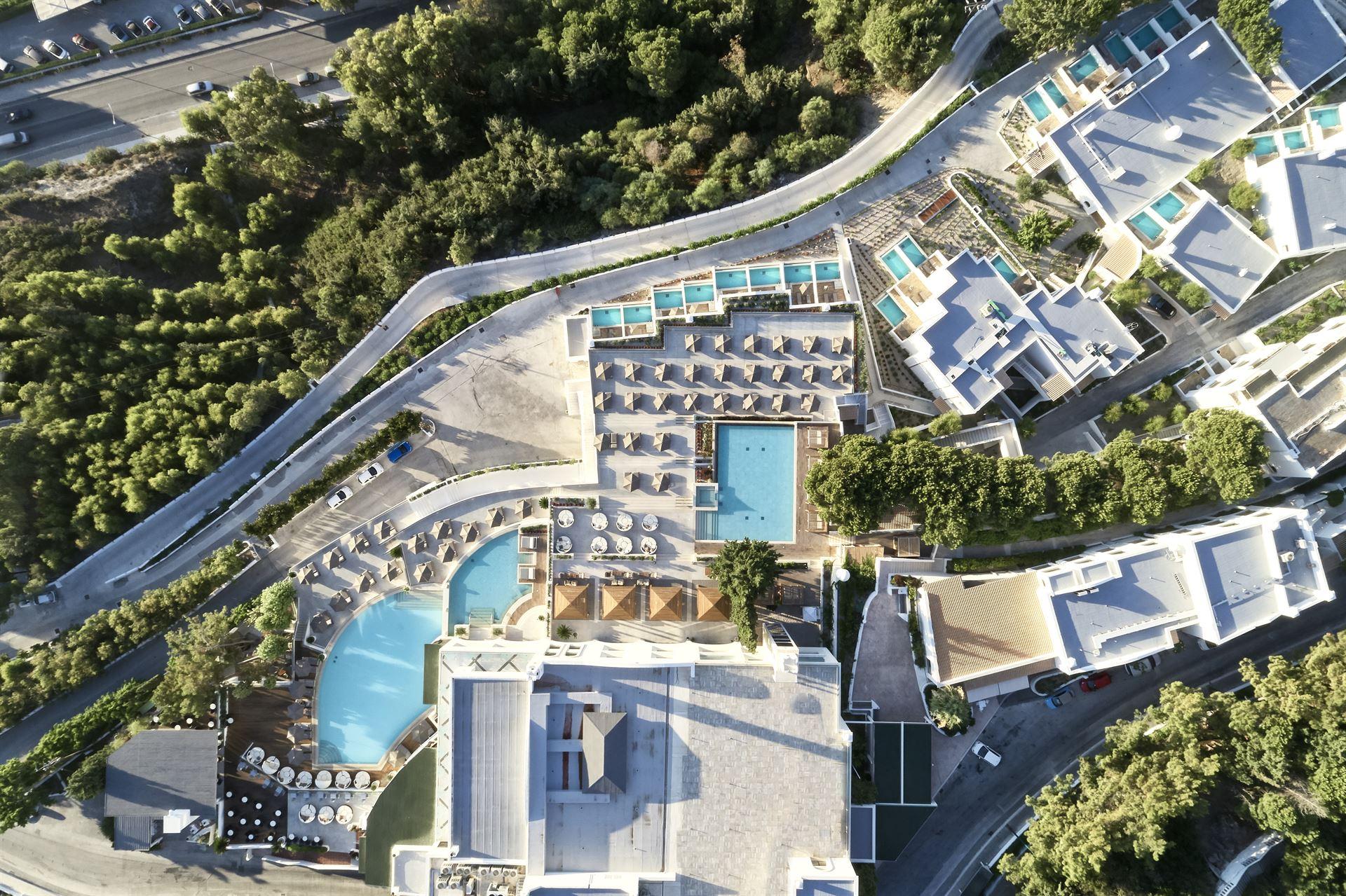 10 Hotel Paling Keren di Faliraki – Panduan Pilihan 2021