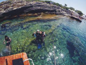 Belajar Menyelam di H2O Diving Center Faliraki Rhodes Yunani