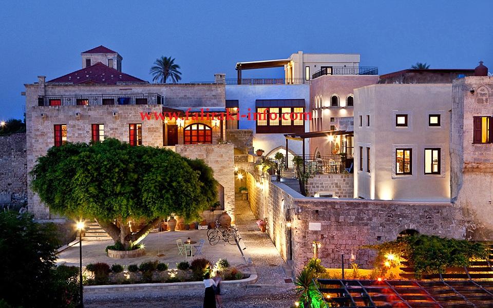 Lima Hotel Terbaik di Kota Tua Rhodes